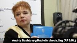 Уповноважений Верховної Ради з прав людини Ніна Карпачова