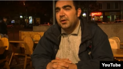 Азербайджанский журналист Рахим Намазов