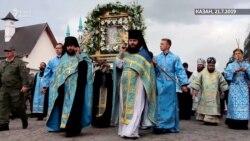Казанда праваславлар тәре йөреше уздырды