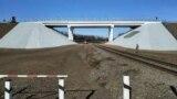 Так выглядит отремонтированный мост возле Попасной