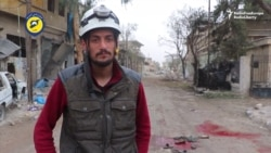 Video Shows Aftermath Of Aleppo Shelling