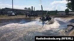 Занурення танка під воду