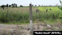 Таджикско-узбекская граница. Иллюстративное фото.