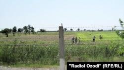 Сўғд вилоятидаги ўзбек-тожик чегараси