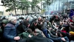 Թբիլիսիում նորից բողոքի ակցիա է կազմակերպվում