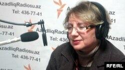 Azerbaijan -- Leyla Yunus, Director of the Institute of Peace and Democracy, Baku, 25Feb2010