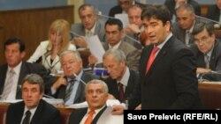 Nebojša Medojević u Skupštini: Izvještaji Tanoka su proizvod korupcije od strane Mila Đukanovića (arhiv)