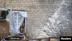 Після обстрілу, Донецьк, 16 жовтня 2014 року