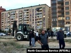 Протест в Каспийске против застройки прибрежной зоны