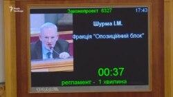 «Де депутати?» – Ігор Шурма