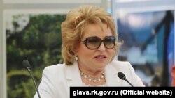 Orsýetiň parlamentiniň ýokarky öýi Federasiýa Geňeşiniň başlygy Walentina Matwiýenko