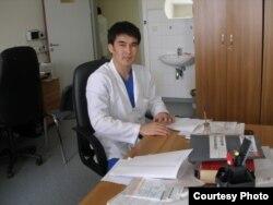 Сызғанов атындағы хирургия орталығының дәрігері Мақсат Досханов.