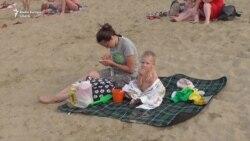 Пляжный отдых в черте города