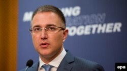 Serbian Interior Minister Nebojsa Stefanovic (file photo)