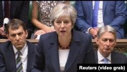 Kryeministrja e Britanisë, Theresa May.