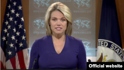 State Department spokeswoman Heather Nauert (file photo)