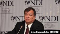 NDI-ის საქართველოს ოფისის დირექტორი ლუის ნავარო