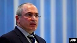 """Основатель движения """"Открытая Россия"""", бывший совладелец ЮКОСа Михаил Ходорковский."""