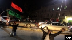 مخالفان قذافی در بنغازی