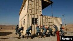 ارشیف: د پوځي تمرینونو پرمهال د افغان پولیس