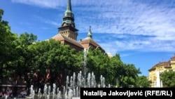 Subotica, grad na severu Srbije u kojem živi deo mađarske zajednice u Srbiji