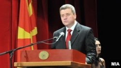 Macedonia President George Ivanov