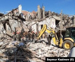خسارتهای برجا مانده از درگیری میان ارمنستان و آذربایجان در نگورنو قرهباغ