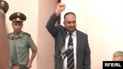 Մյասնիկ Մալխասյանը իր դատավարության ժամանակ, 5 հունիս, 2009 թվական