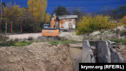 Канализационно-очистные сооружения «Южные» в Севастополе, декабрь 2020 года
