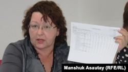 Депутат мажилиса парламента Казахстана Ирина Смирнова.