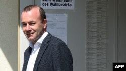 Поддерживаемый Ангелой Меркель кандидат на пост главы Еврокомиссии Манфред Вебер.