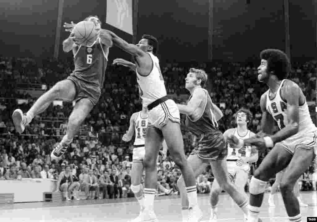 Belov (not pictured) was a key contributor to one of the most dramatic Olympic upsets ever, when the Soviets' last-ditch basket snatched a hotly disputed 51-50 victory against the United States in the Munich basketball competition in 1972.
