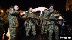 Армянская армия обеспечивает спокойствие на линии фронта