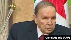 82-летний президент Алжира Абдельазиз Бутефлика, 11 марта 2019