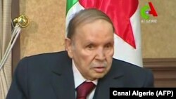 82-летний президент Алжира Абдельазиз Бутефлика, 11 марта 2019 года.