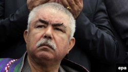 Afghan Vice President Abdul Rashid Dostum (file photo)