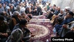 شماری از شهروندان عرب ایرانی در دیدار با مسئولان محلی در خوزستان