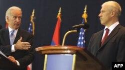 Joseph Biden i Boris Tadić, Beograd, maj 2009.