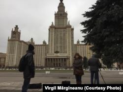 Emilian Galaicu-Păun, Violeta Gorgos și Cristian Sbingu la Moscova