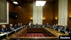 مذاکرات صلح سوریه در ژنو (عکس آرشیو)