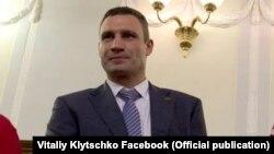 Лидер украинской партии «УДАР» Виталий Кличко.