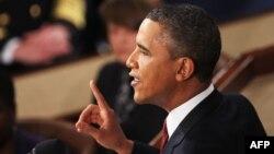 Обама обращается к Конгрессу с докладом о положении в стране