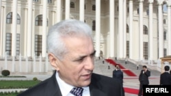 Tajik Foreign Minister Hamrokhon Zarifi (file photo)
