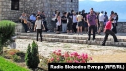 Туристи во Охрид