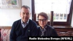 Брачниот пар Мариа и Томас Росенгрен од Стокхолм, Шведска.