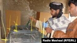 Pamje nga votimet në Afganistan