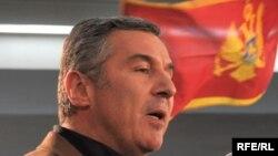 Milo Đukanović nakon pobede na izborima, Foto: Savo Prelević