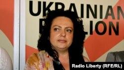 Кацярына Капылава, дырэктар Агенцыі па справах кіно Ўкраіны. 23 траўня 2012