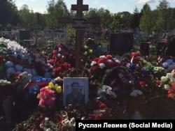 Могила Антона Савельєва (позивний «Сава»)