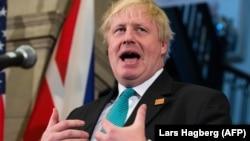 Глава МИД Великобритании Борис Джонсон (архив)
